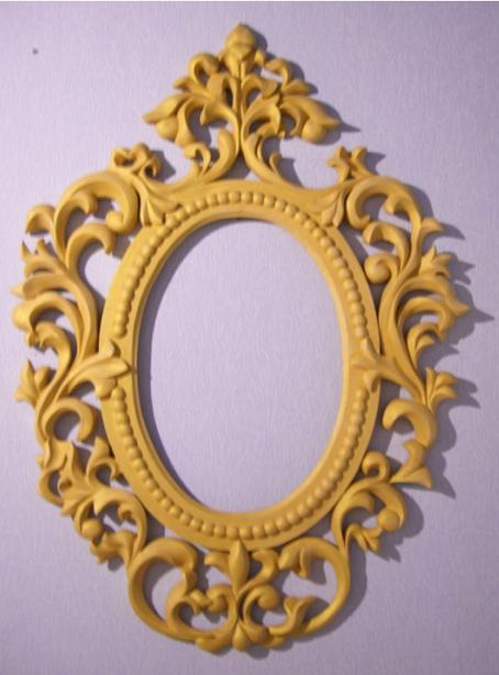 Резная рама из дерева для зеркала своими руками